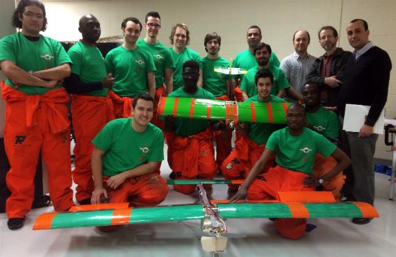 L'équipe du projet Aero UQTR.