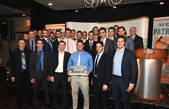 La formation de hockey est l'équipe de l'année des Patriotes de l'UQTR