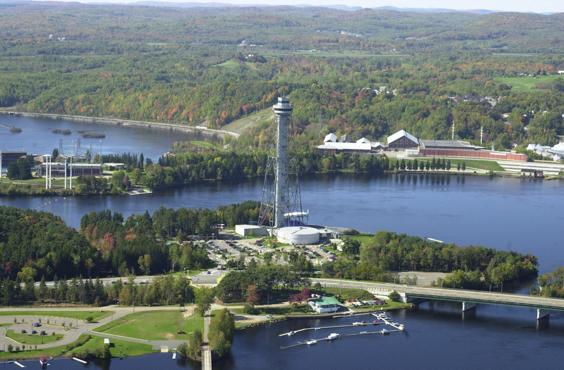 La Cité de l'énergie à Shawinigan.
