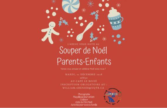 Souper De Nol Parents Enfants LAGEHC Au Campus Drummondville